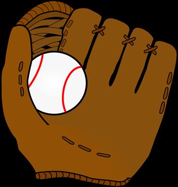 Spring Sports baseball glove and ball